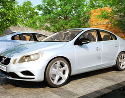 VOLVO S60 CAR4ARCH VOL1 3D Model