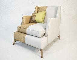 3D model VIBIEFFE Class 680 armchair