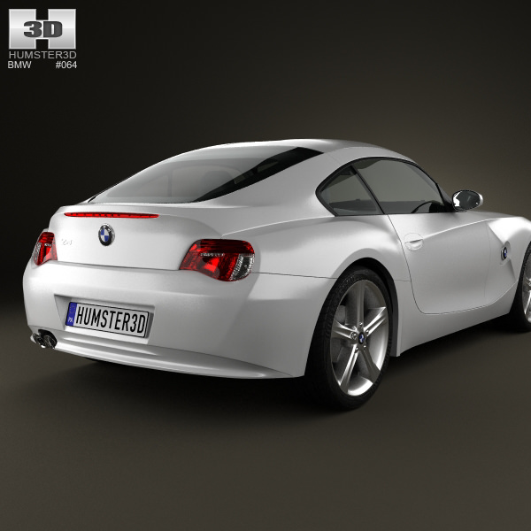 Bmw Z4 E85: BMW Z4 E85 Coupe 2002 3D Model .max .obj .3ds .fbx .c4d