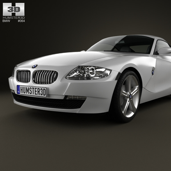 Bmw Z4 E85 Parts: BMW Z4 E85 Coupe 2002 3D Model .max .obj .3ds .fbx .c4d