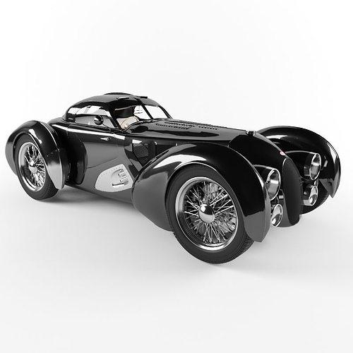 bugatti 3d model max obj 3ds fbx mtl 1