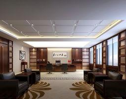 office-interior Office 3D model