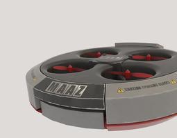 quadcopter  3d model obj fbx blend dae mtl