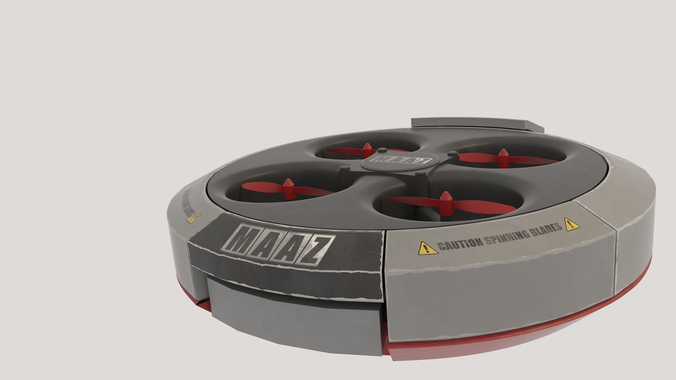 QUADCOPTER3D model