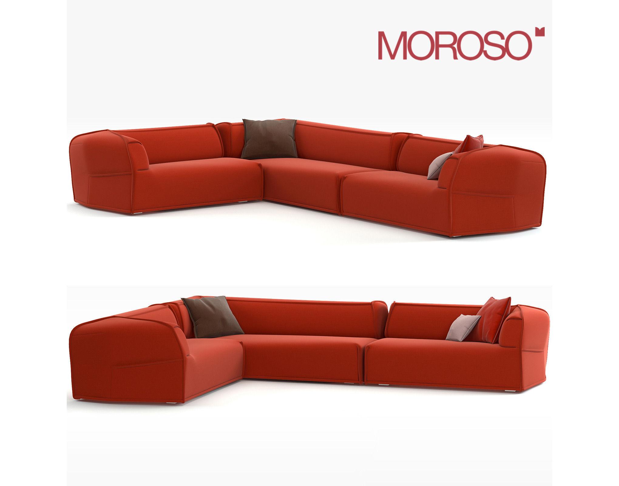Small Red Corner Sofa Hereo Sofa