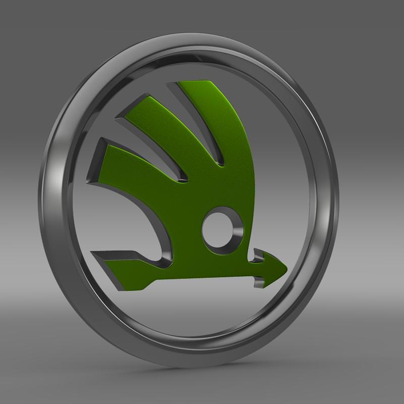 Peugeot Logo 3D Model MAX OBJ 3DS FBX C4D LWO LW LWS
