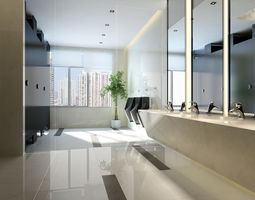 3d model stylish interior design 034