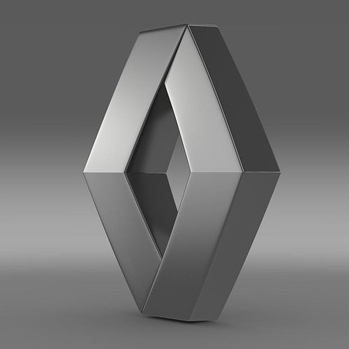 Who Owns Volvo >> 3D model Renault Logo | CGTrader