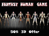 10 fantasy Human Game Set