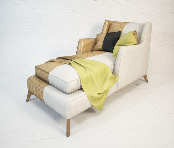 VIBIEFFE Class 680 lounge armchair3D model