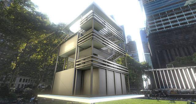 tower-house design - blender game engine 3d model low-poly rigged animated obj 3ds fbx dxf stl blend 1