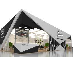 exhibition area 18x12 3dmax2012-