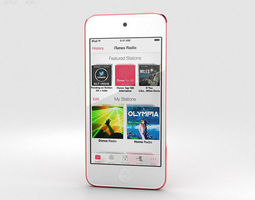 3D Apple iPod Touch Pink