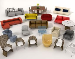Furniture Model pack 1 3D