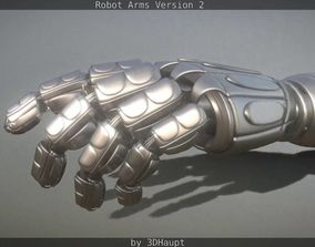 Robotarms version 2 rigged 3D model