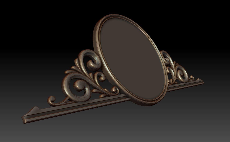 Mirror 3d model obj stl for Mirror 3d model