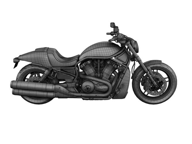 Harley Davidson V Rod Night