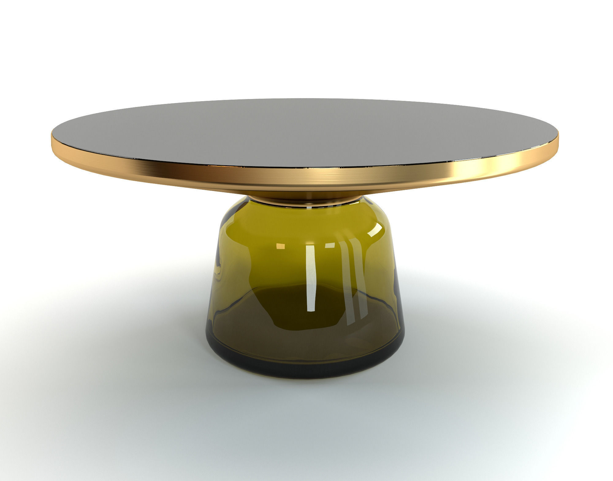 bell classicon coffee tables 3d model max obj fbx mtl