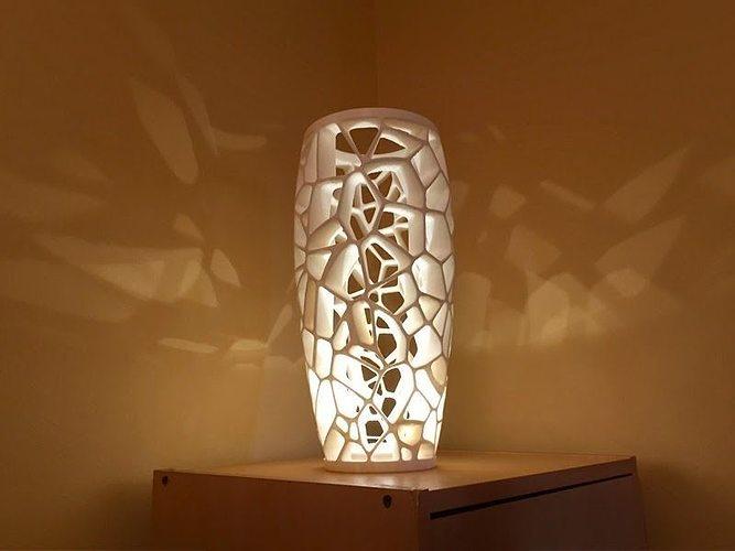 voronoi lamp 2 3d model stl 1