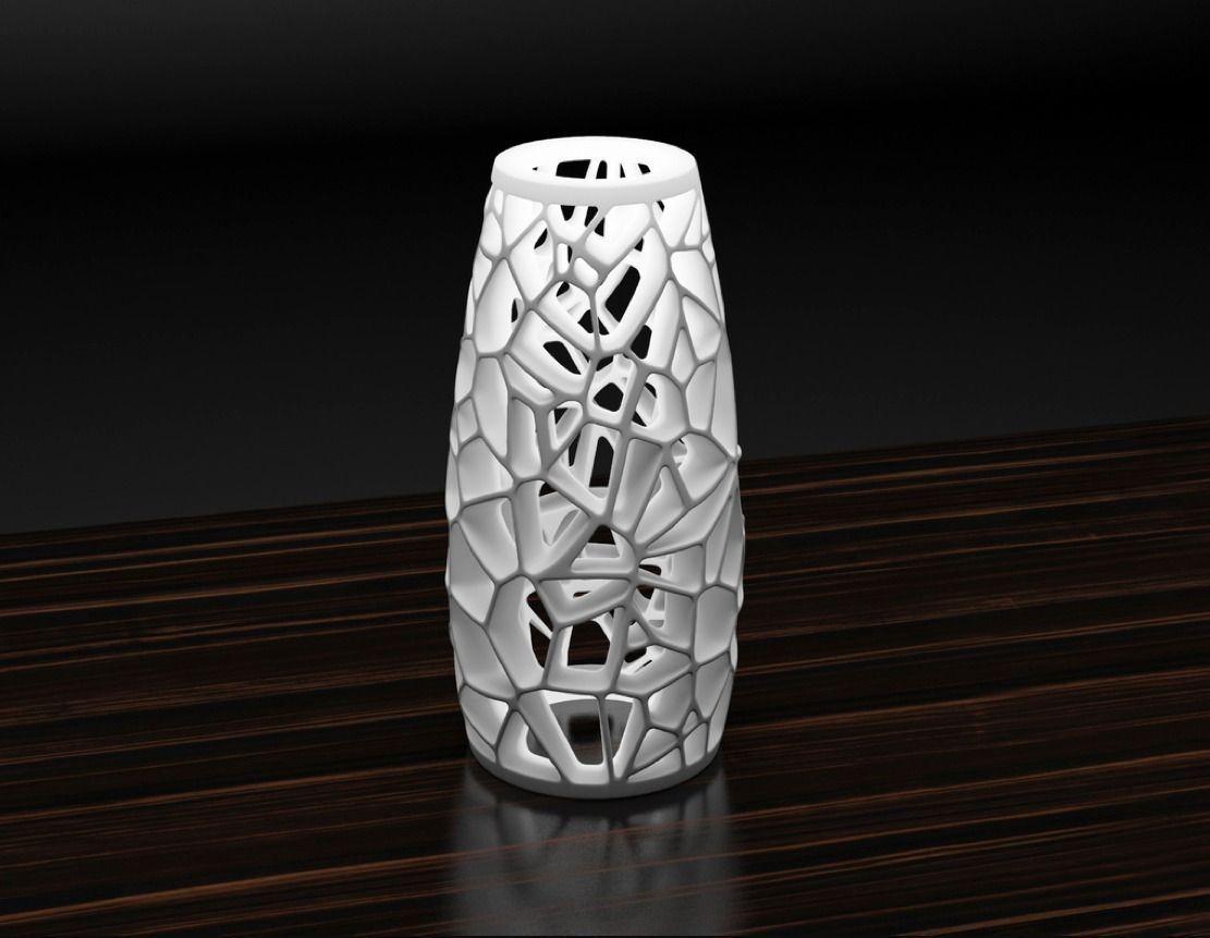 Voronoi lamp 2 3D Model 3D printable STL | CGTrader.com