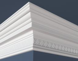 Crown Moulding Kit 5 3D Model max obj fbx ma mb