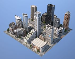 3D asset City KC6