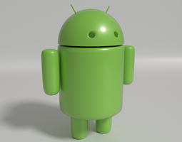 Andy Android Model 3D Model