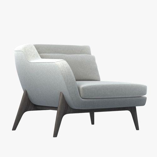 Enne Glorious armchair3D model