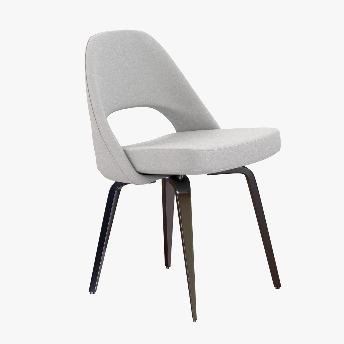 Saarinen Executive Side Chair 3d Model