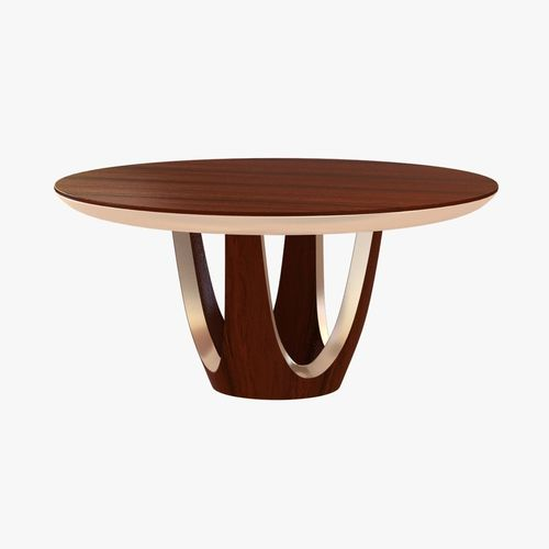 dakota jackson calypso round dining table3D model