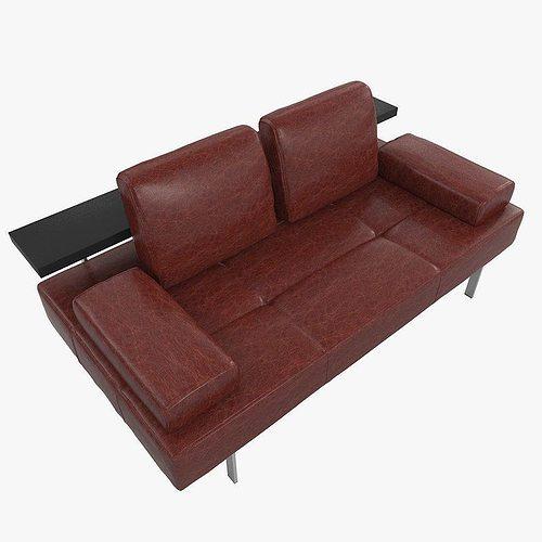 3d sofa rolf benz dono cgtrader. Black Bedroom Furniture Sets. Home Design Ideas