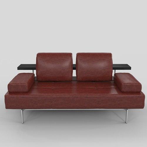 sofa rolf benz dono 3d model max. Black Bedroom Furniture Sets. Home Design Ideas