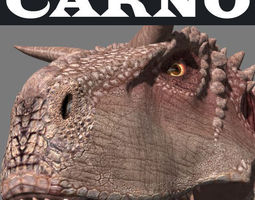 Carnotaur Resurrection - dinosaur 3d model animated