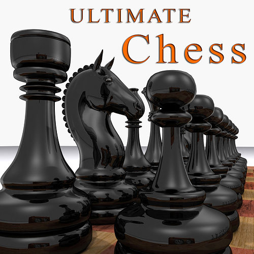 the ultimate chess pack - 3d model 3d model max 1