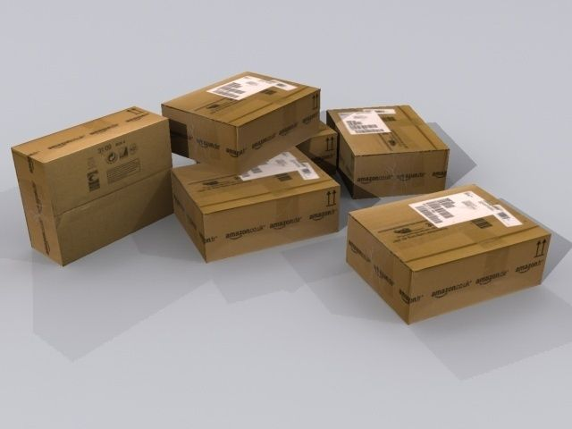Amazon Package Box3D model
