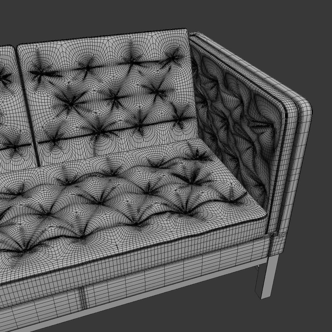 erik jorgensen ej 315 sofa 3set 3d model max. Black Bedroom Furniture Sets. Home Design Ideas