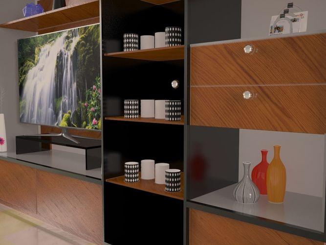 Modern Tv Stand3D model