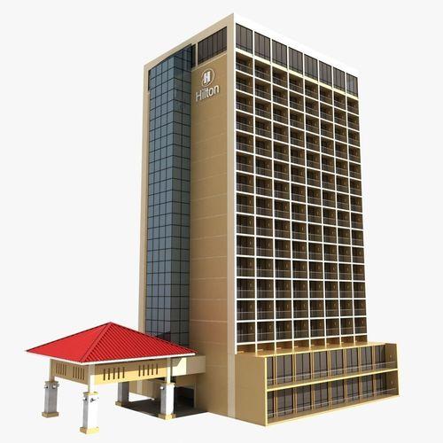 Hotel Building3D model