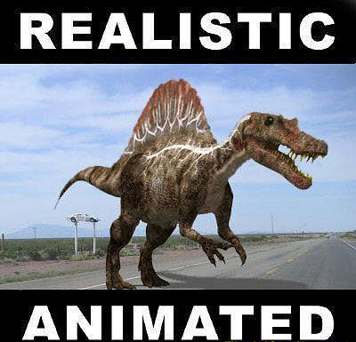 spinosaurus egypticus - 3d model 3d model rigged animated max obj mtl fbx 1