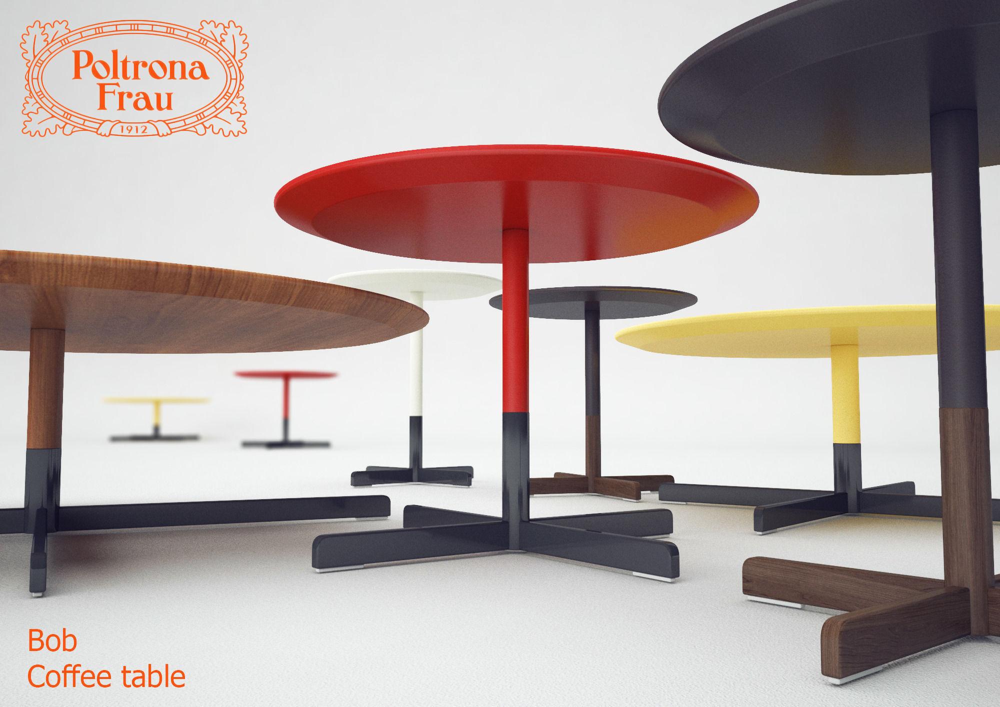 Coffee Table Poltrona Frau Bob Model Max 1