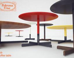 Coffee table Poltrona Frau BOB 3D model