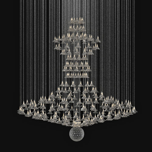 Custom Made Chandelier3D model