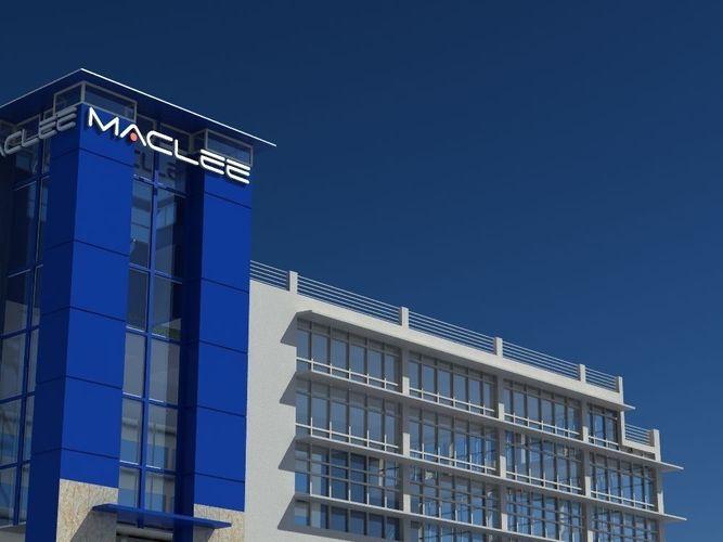 MacLee Building3D model