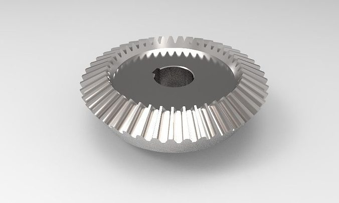 Bevel Gear Animation : Bevel gear free d model stp cgtrader