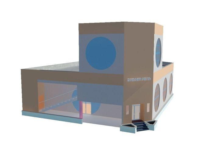 Burger King Building3D model