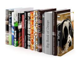 books set 06 3d model