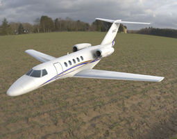 3D asset Cessna Citation CJ4