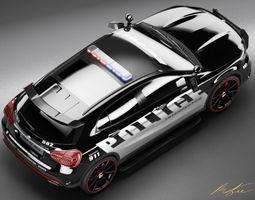 Mercedes Benz GLA Police Highway Patrol 3D Model