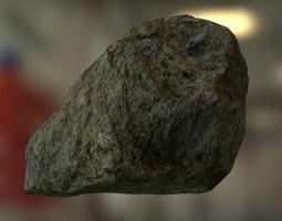 3D model VR / AR ready PBR Rock
