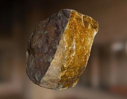 3D asset VR / AR ready PBR Rock